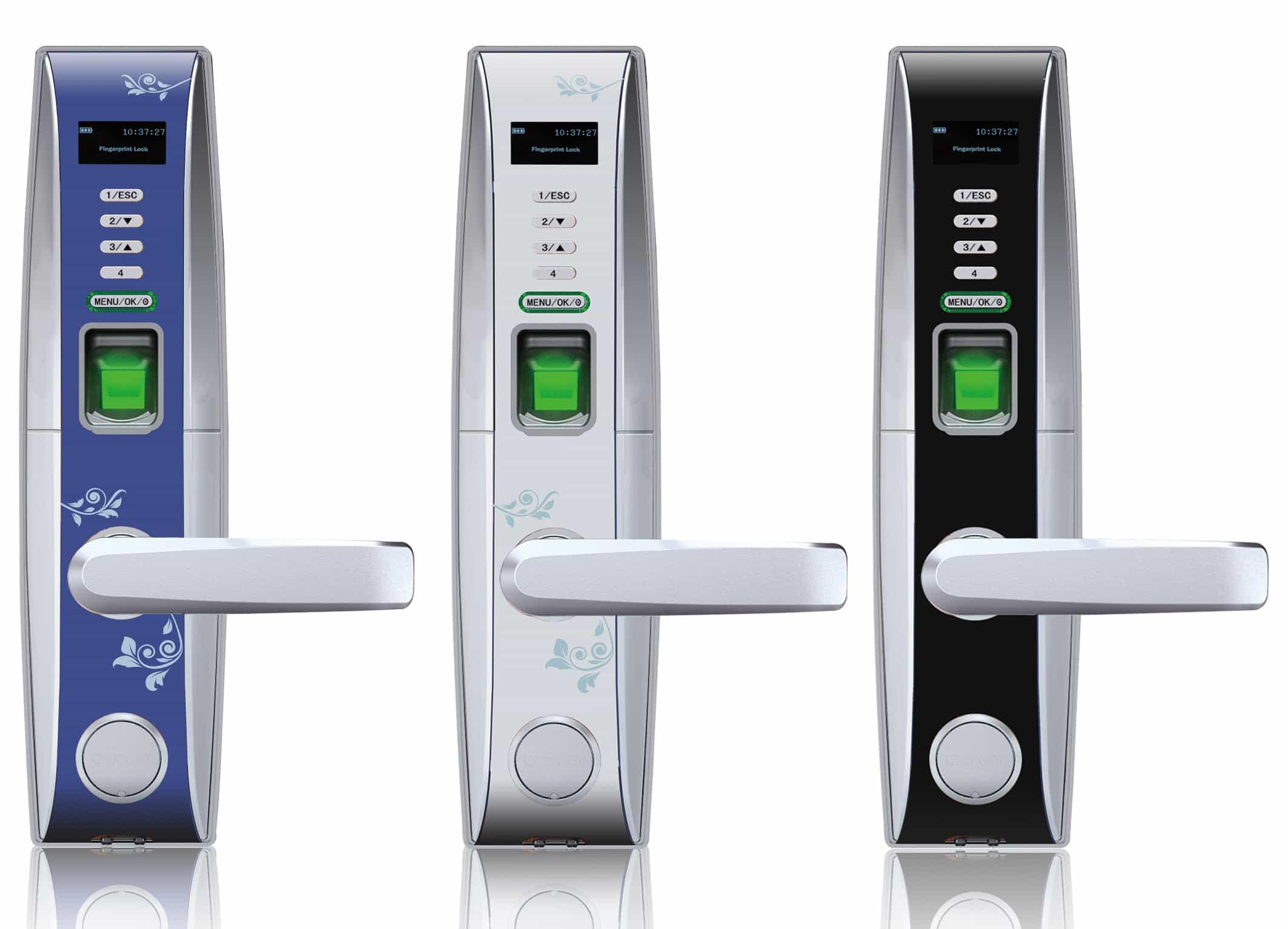 Биометрические замки с оптическим сканером отпечатков пальцев