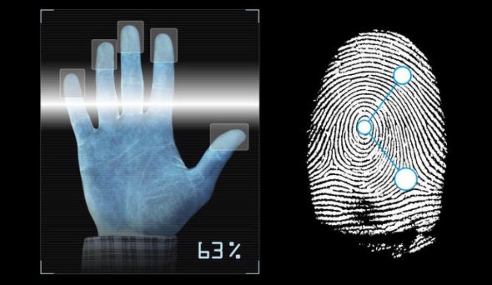 Геометрия руки при аутентификации