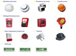 Датчики пожарной сигнализации