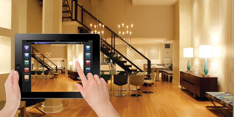 Управление умным домом с помощью планшета