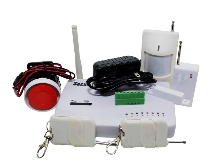Базовый комплект GSM сигнализации
