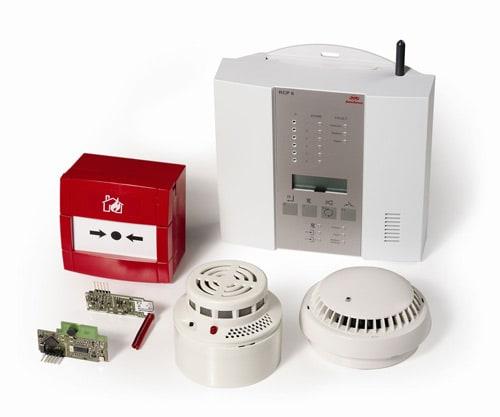 Устройство беспроводной системы пожарной сигнализации