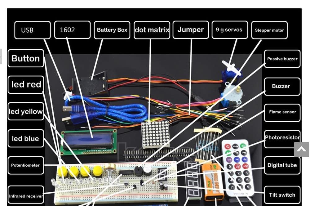 Базовый набор Arduino Start