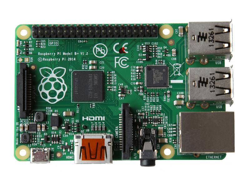 Микрокомпьютер одноплатный Raspberry Pi