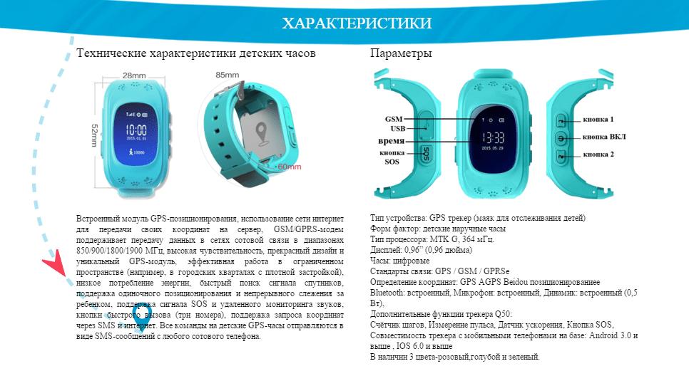Часы с трекером для детей